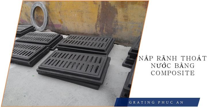 Nắp rãnh thoát nước bằng Composite - Đặc điểm